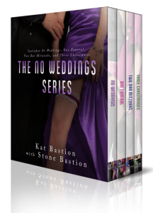 No Weddings by Kat & Stone Bastion….Limited Edition Box Set Release Day Event