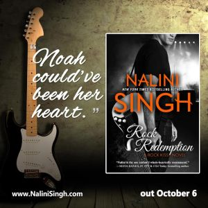 Rock Redemption by Nalini Singh…. Blog Tour & Review