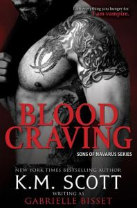 Blood Craving by K.M. Scott…..Release Day Event