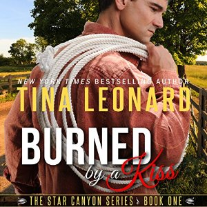 Rina's Quick Audio Bytes ~ Audiobook Reviews in Short: Burned by a Kiss by Tina Leonard