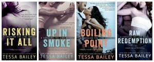 Tessa Bailey's Crossing the Line series GIVEAWAY