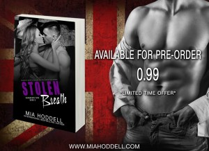 Stolen Breath by Mia Hoddell…Pre-order Sale and Blurb