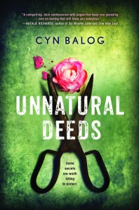 Unnatural Deeds by Cyn Balog…Spotlight