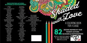 Shaded With Love: A Coloring Book for a Cause…..Release Blitz