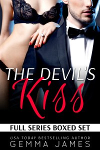 The Devil's Kiss Series Boxed Set by Gemma James