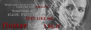 Blurb Reveal…Flutter by Olivia Evans