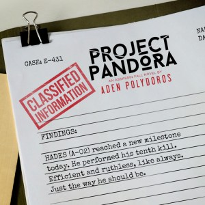 Project Pandora by Aden Polydoros….Blog Tour & Review