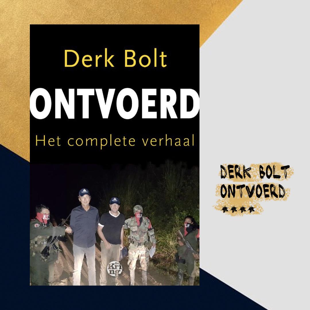 Boekrecensie: Derk Bolt – Ontvoerd