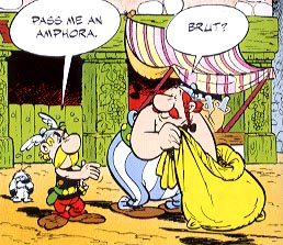 Image result for asterix and the banquet