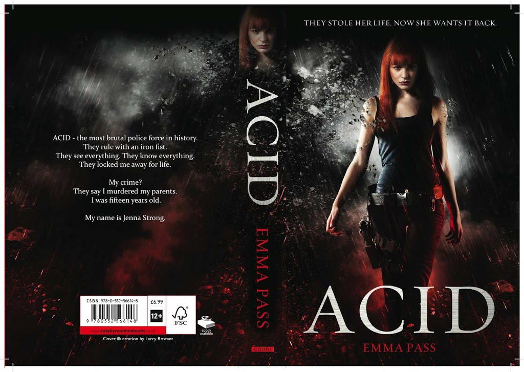 ACID cover reveal and competition!