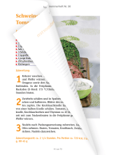 We also render travel guides and cookbooks on a regular basis, such as this Bauer Media cookbook series.