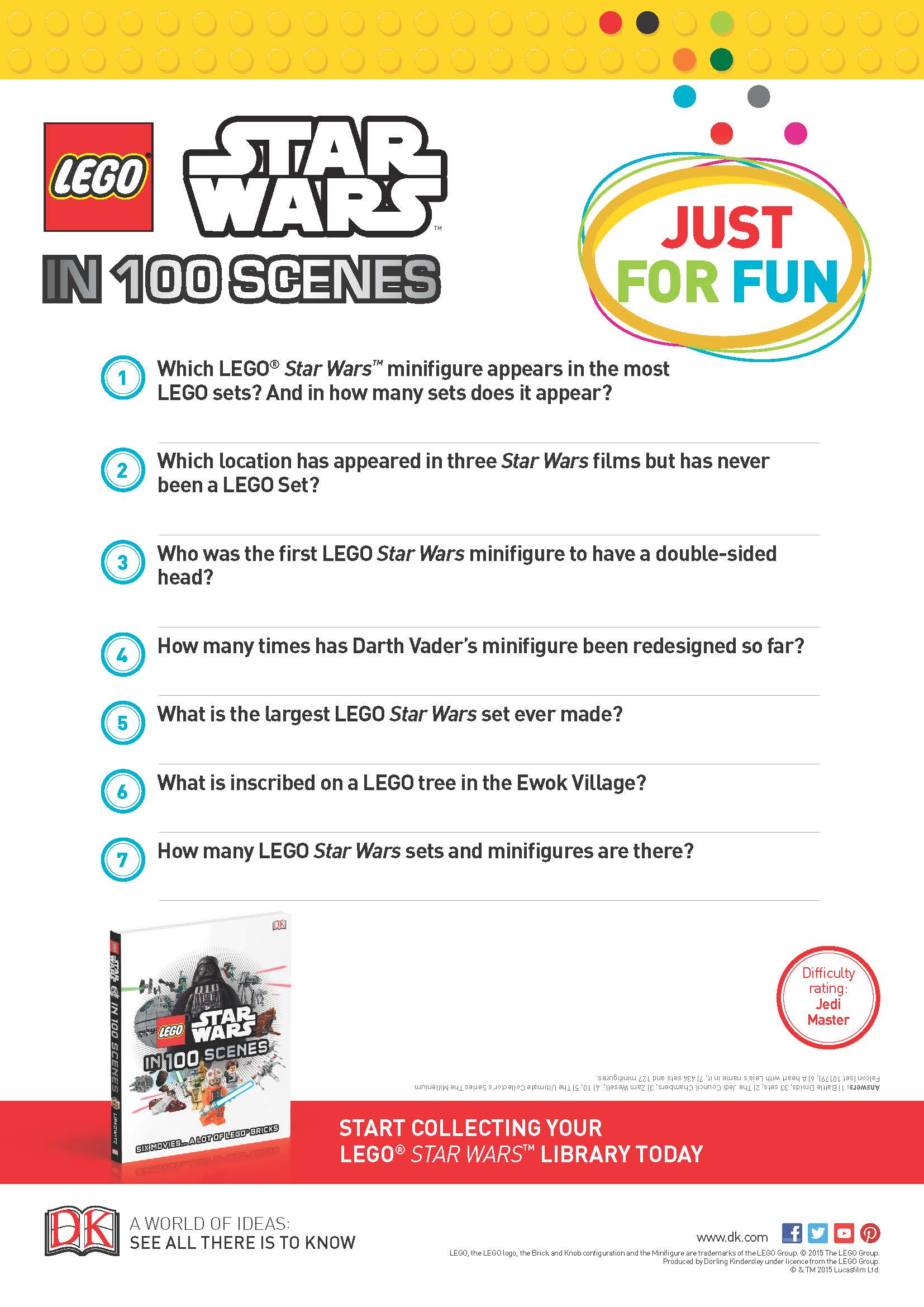 Star Wars Lego Trivia