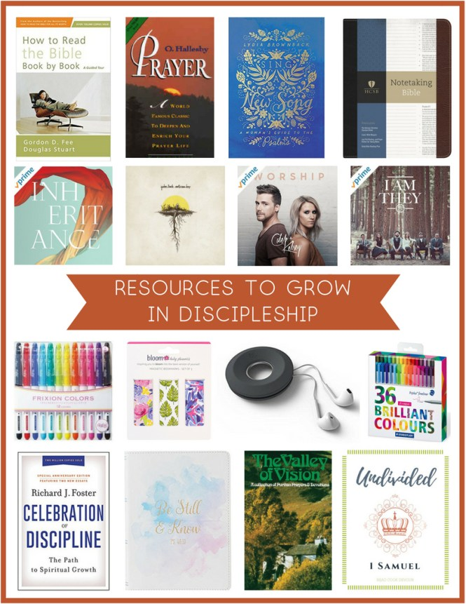 Resources to Grow in Discipleship