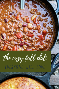The Cozy Fall Chili Everyone Will Love | Easy Pantry Chili in 30 Minutes