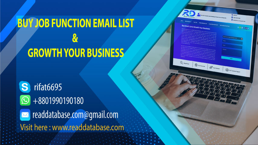 Job Function Email List