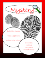mystery genre section