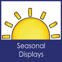 Seasonal Displays--Library Decor