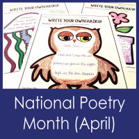 National Poetry Month--MS Librarians