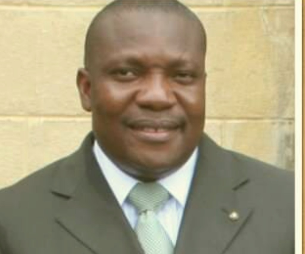 Barr. Ekong Sampson, Commissioner, Ministry of Economic Development, Labour and Manpower Planning