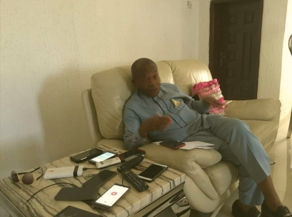Chief Ndueso Essien, political Leader, Eket Senatorial District