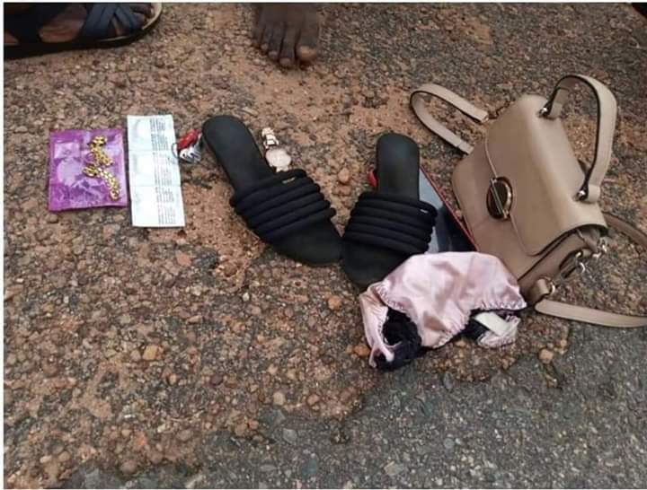 Items recovered from the alleged culprit in Oyo State