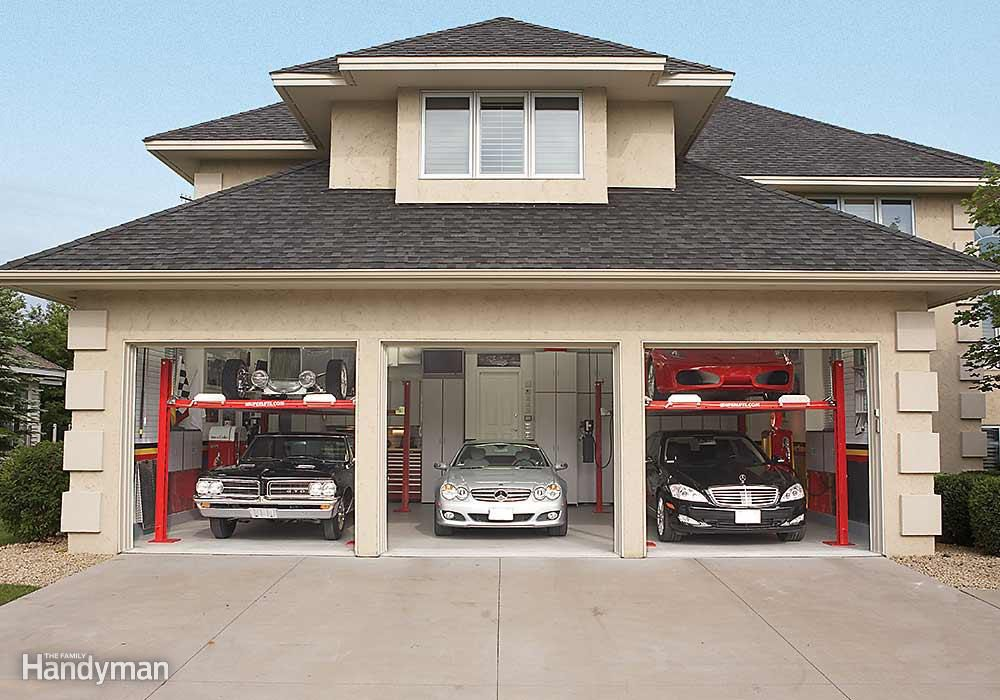 Dream Garage Tour How To Fit Five Cars In A Three Car Garage