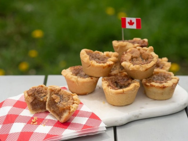 Món ăn Canada Thực phẩm Canada - bánh bơ