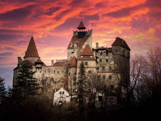 Dracula's Castle in Transylvania, Romania