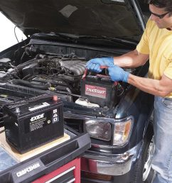 how to replace a car battery [ 1200 x 1200 Pixel ]