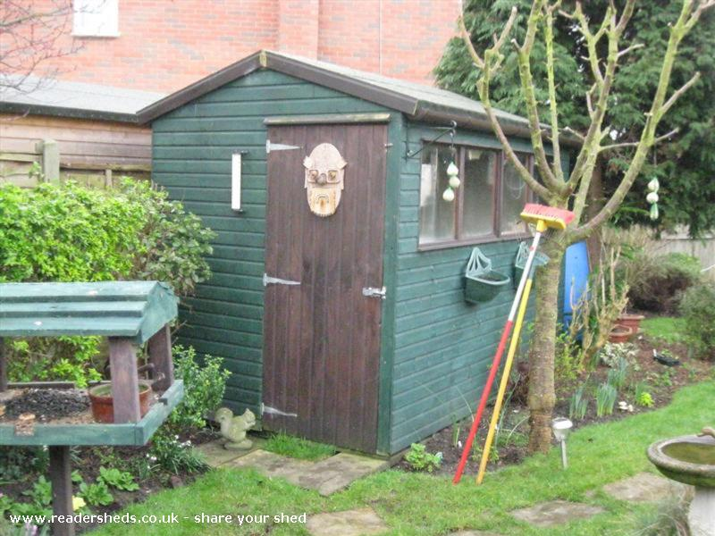 The Grumpy Old Man Shed Unexpected from Broomfield