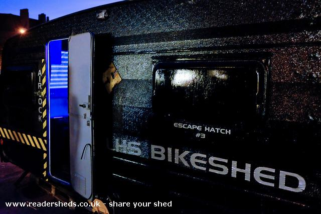 LHS Bikeshed - tom wyatt - Car Park