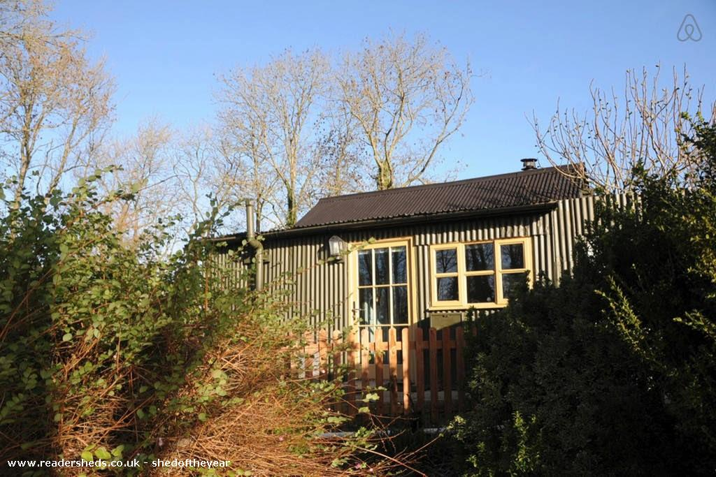 Corrugated Cottage  Historical from Garden owned by