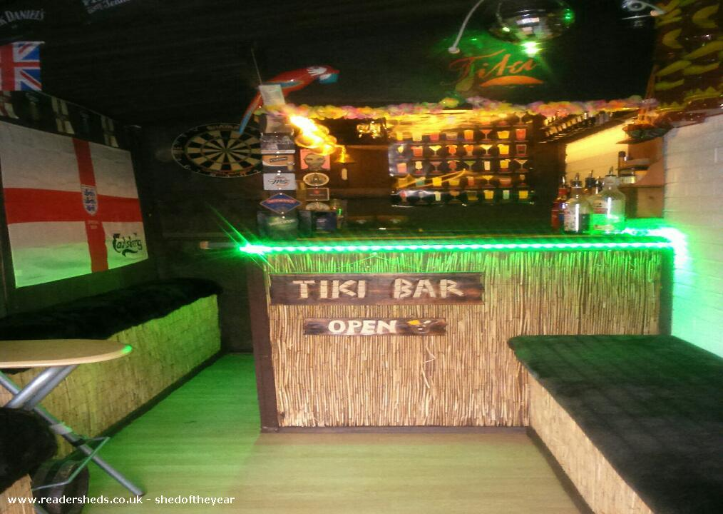 Tiki Bar  PubEntertainment from tingley owned by kevin