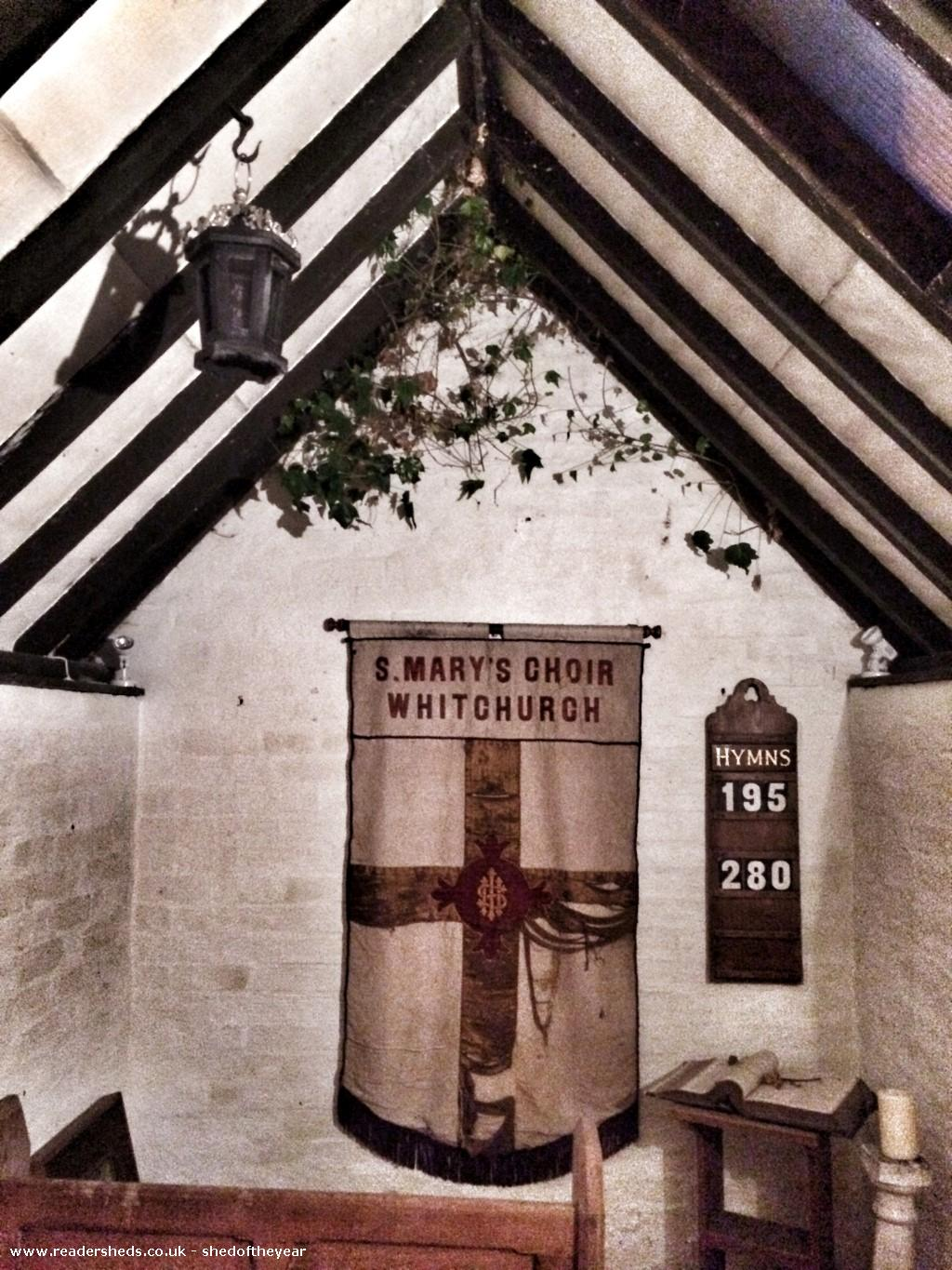 The Chapel Unexpected From Garden Owned By Jamie Taylor