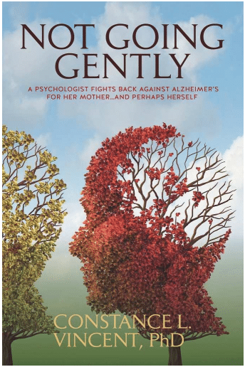 Not going gently book cover