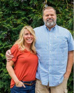 John F Hodgson and wife