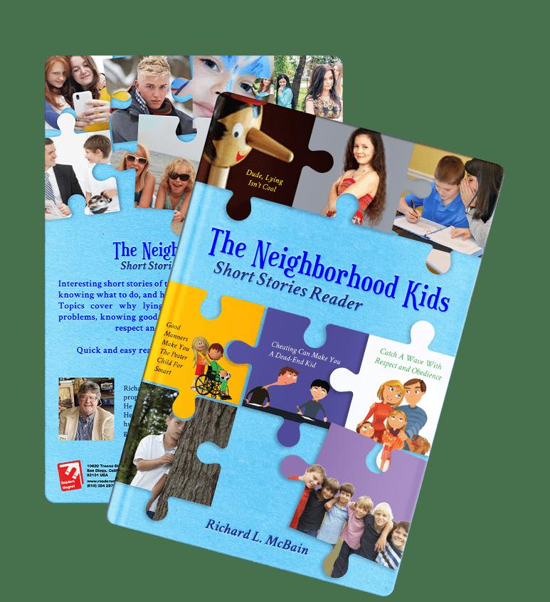 The Neighborhood Kids Short Stories Reader by Richard L. McBain