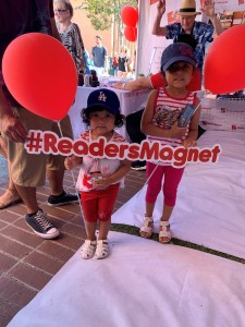 1 each year, ReadersMagnet continues to conquer new book fairs