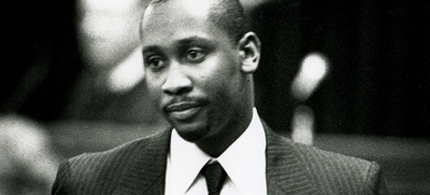 Troy Davis, seen here in 1991, will be executed tonight. (photo: AP)