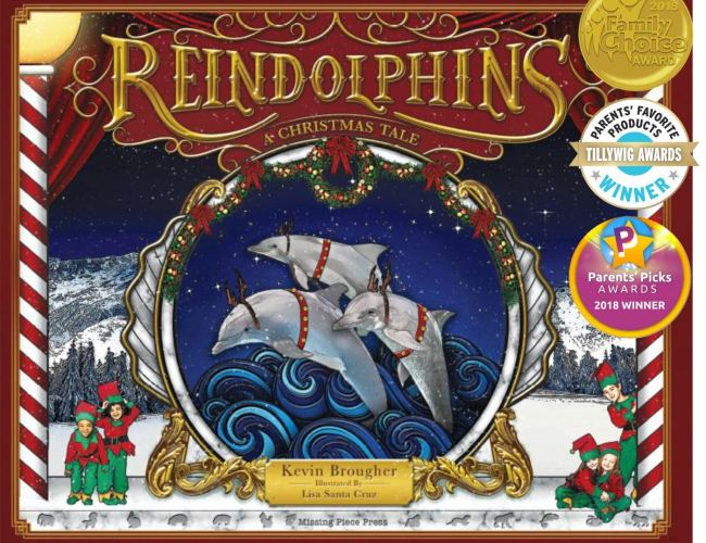 """Reindolphins: A Christmas Tale"" by Kevin Brougher"