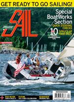 Sail Magazine April 2009 cover