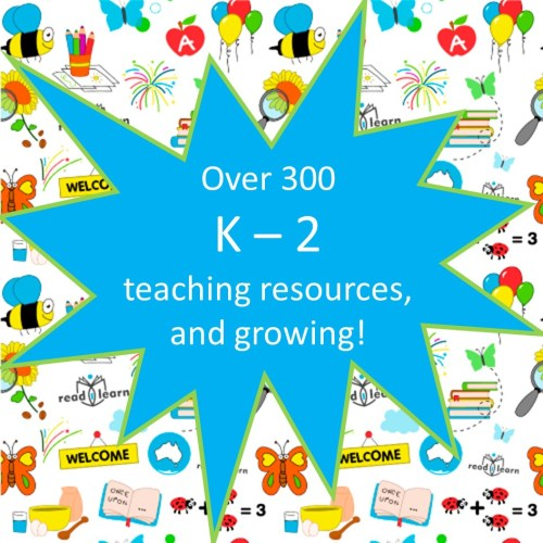 subscribe for access to over 300 teaching resources for the first three years of school