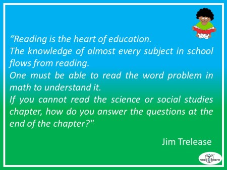 Jim Trelease - reading is the heart of education