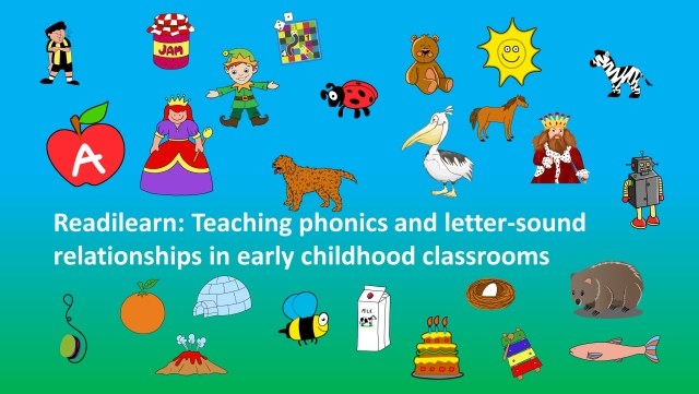 teaching phonics and letter sound relationships in early childhood classrooms