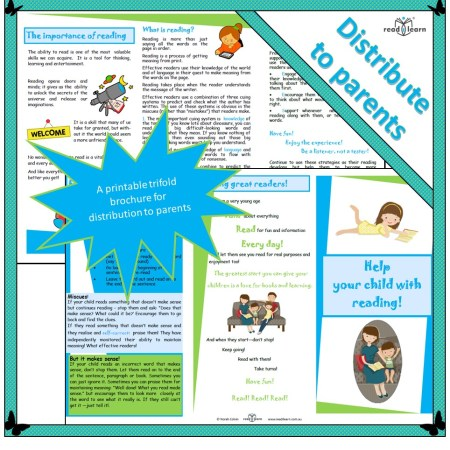 Help your child with reading - a brochure of suggestions for parents
