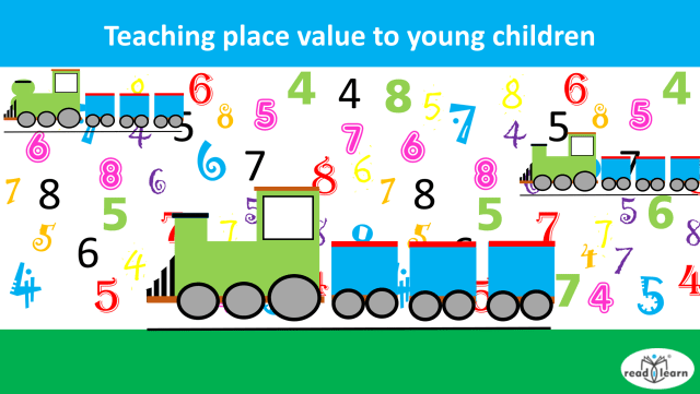 lessons and activities for teaching place value to young children