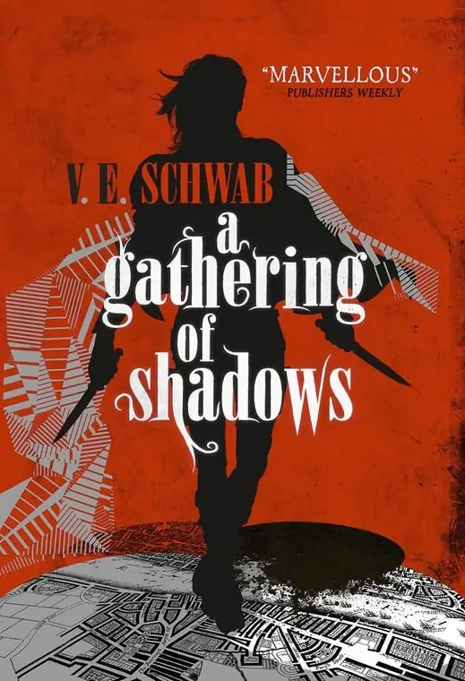 First look at: A Gathering of Shadows | Reading After Midnight