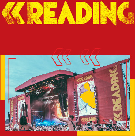 Image result for leeds and reading festival