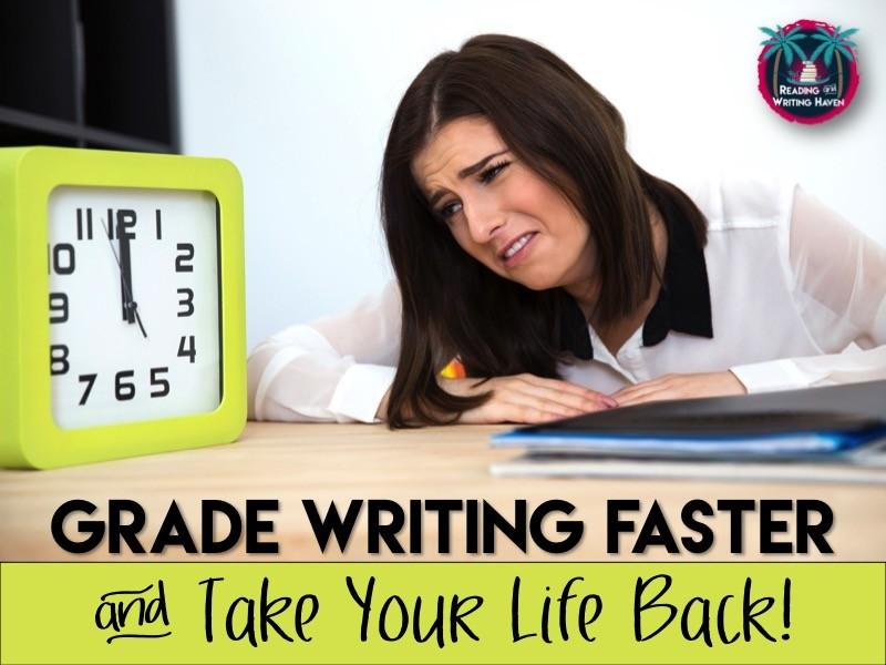 Practical tips for grading writing faster. Keep the quality and maintain your sanity, but don't sacrifice all of your time.