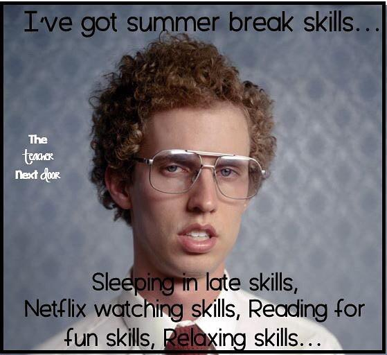 Anyone else have these skills? Lol! theteachernextdoor itssummertime rejuvenation teacherlifehellip